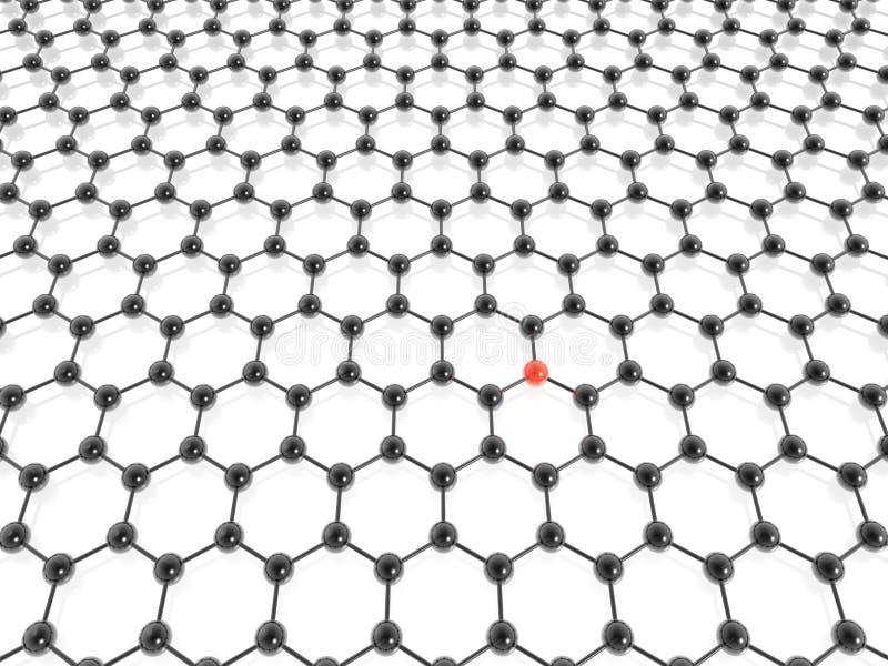 Hexagonhintergrund lizenzfreie abbildung