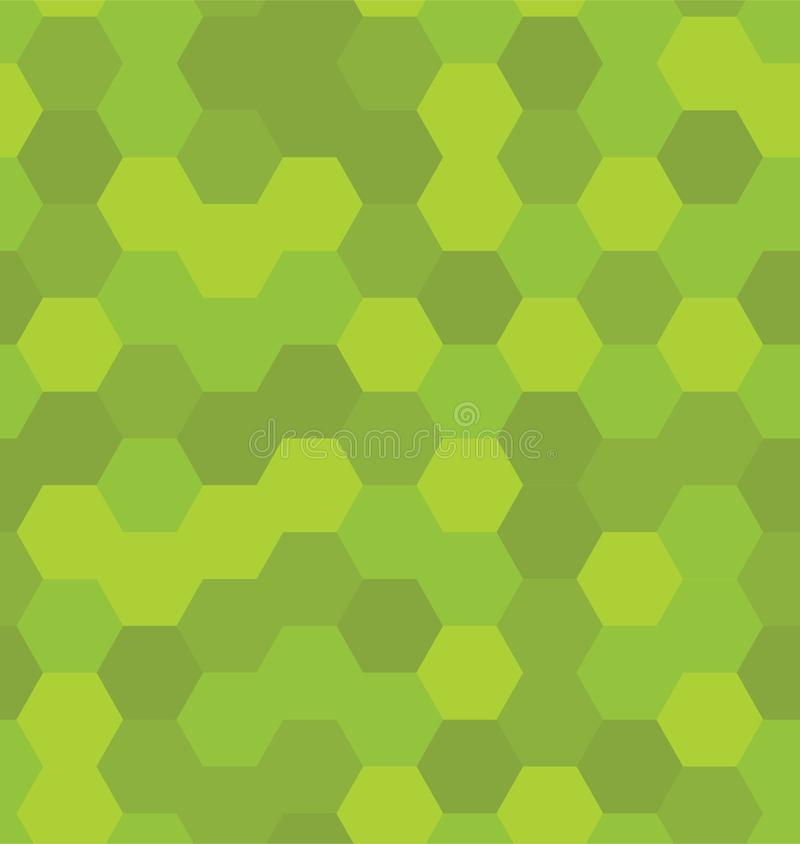 hexagons πρότυπο άνευ ραφής διανυσματική απεικόνιση