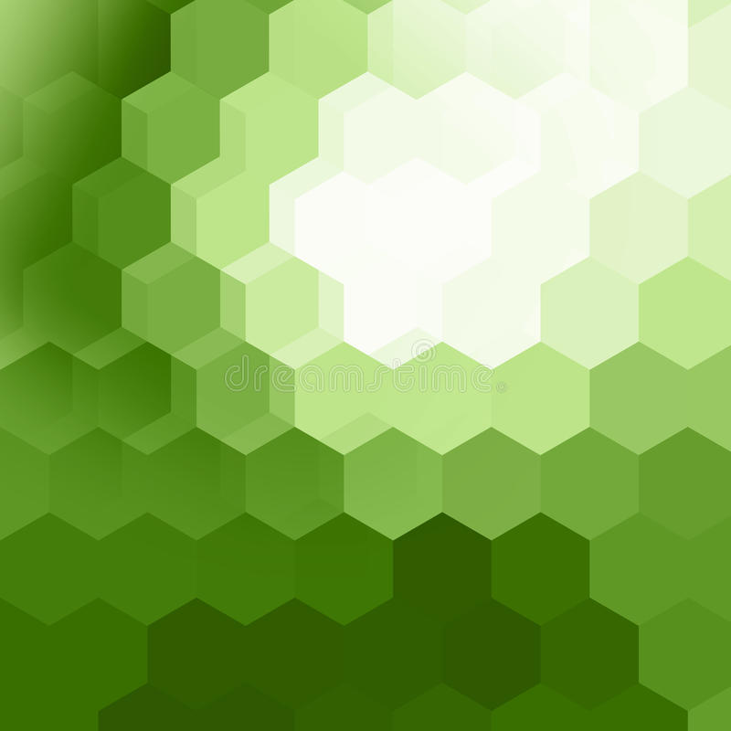 Download Hexaon Geometric Pattern Background Stock Illustration - Image: 38550260