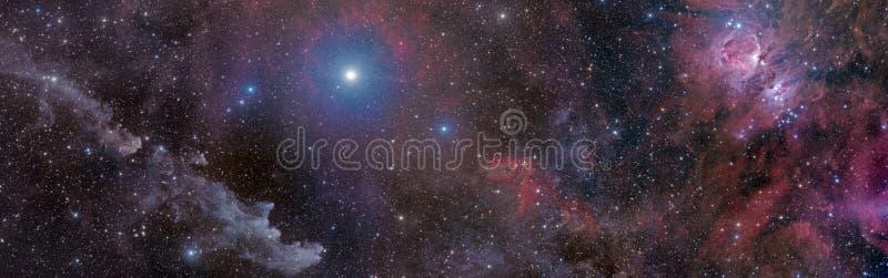 Hexe zur Klinge in Orion stockbild