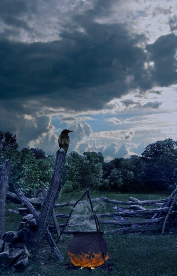 Hexen Ritual lizenzfreies stockfoto