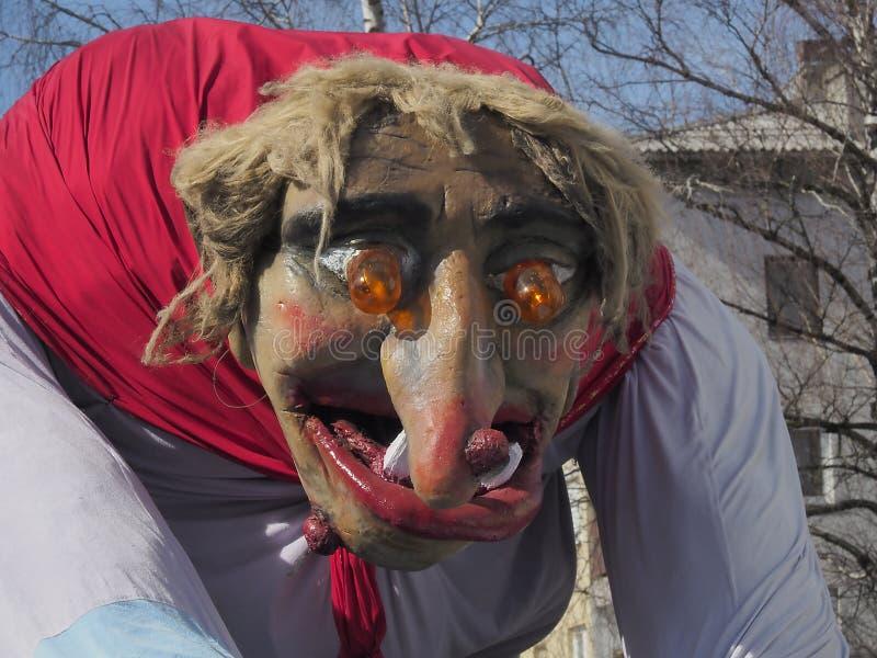 Hexenparade-Flossnahaufnahme stockfotos