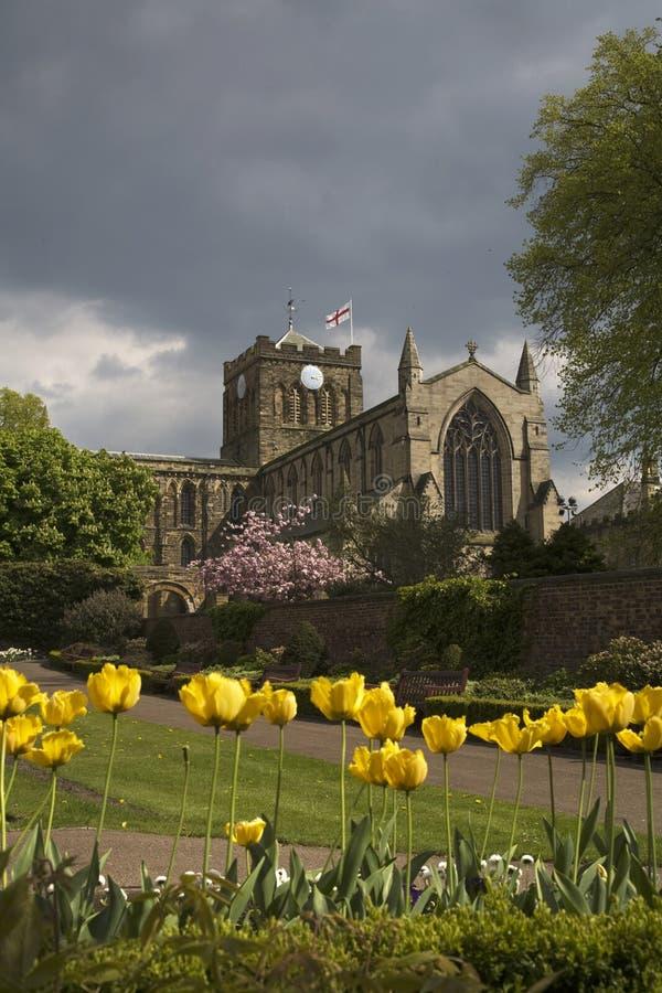 Hexham Abbey royalty free stock image