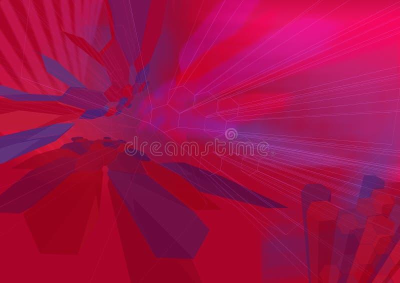 HexZoom2 wireframe - eine Serie vektor abbildung