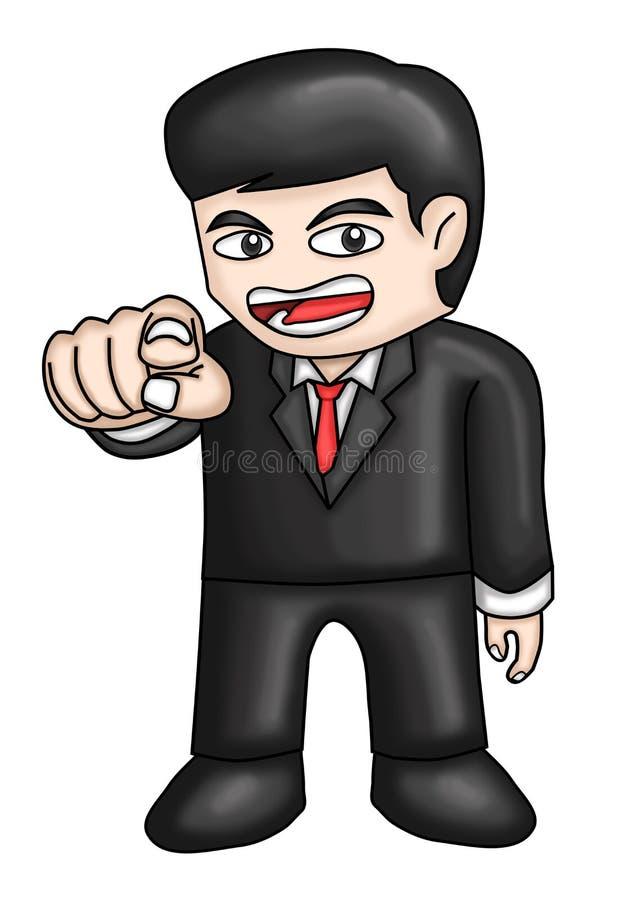Hey você! Desenhos animados e ilustrações foto de stock royalty free