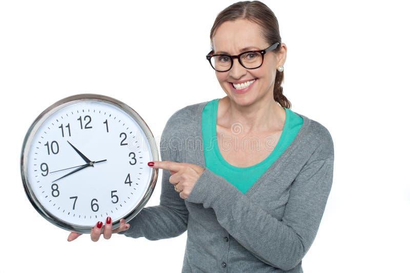 Hey, wat is de tijd? royalty-vrije stock afbeeldingen