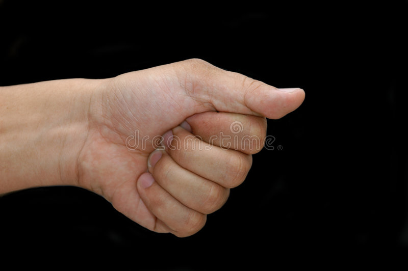Download Hey You stock photo. Image of tell, macro, pointing, hand - 172290