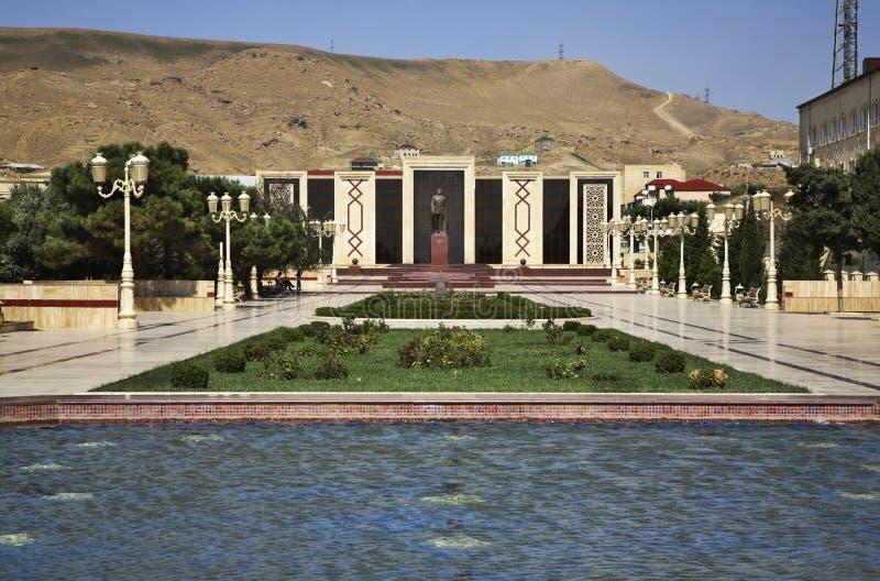 Heydar Aliev公园在巴库附近的Lokbatan 阿塞拜疆 库存照片