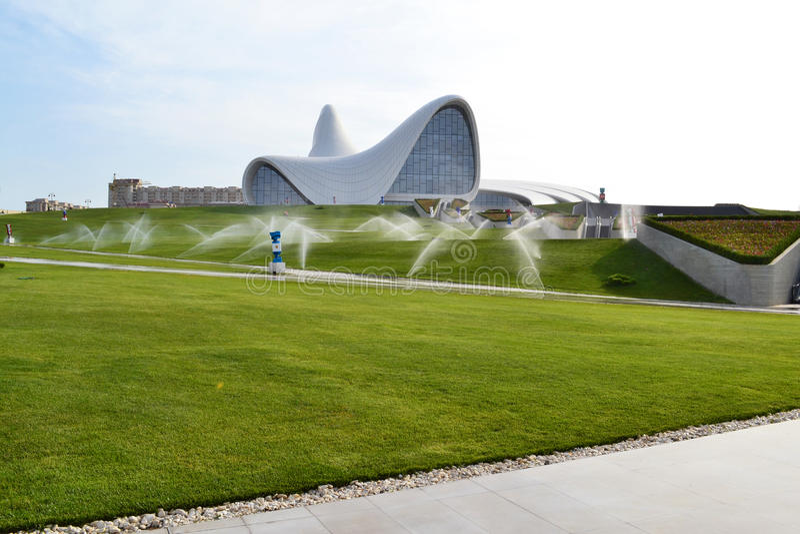 Heydar Aliyev Center arkivfoton