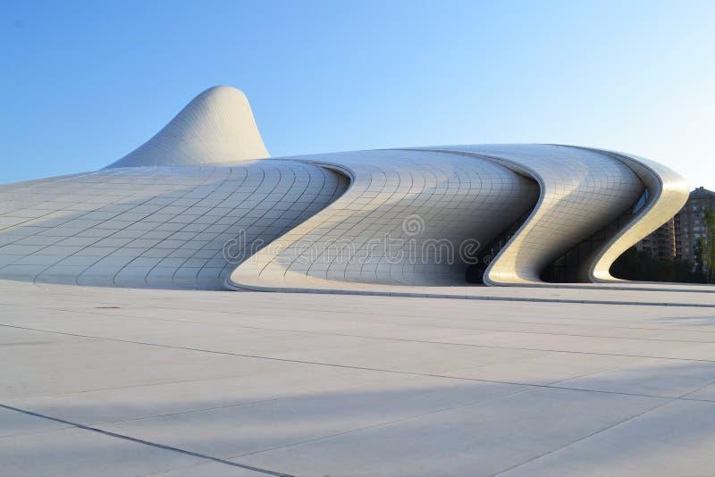 Heydar Aliyev Center royalty-vrije stock foto's