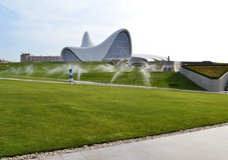 Heydar Aliyev Center royalty-vrije stock afbeeldingen
