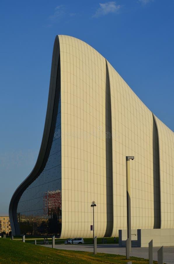 Heydar Aliyev Center, an architectural landmark in Baku stock images