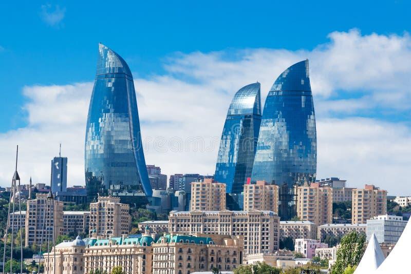 Heydar Aliyev Center Museum à Bakou, Azerbaïdjan images stock