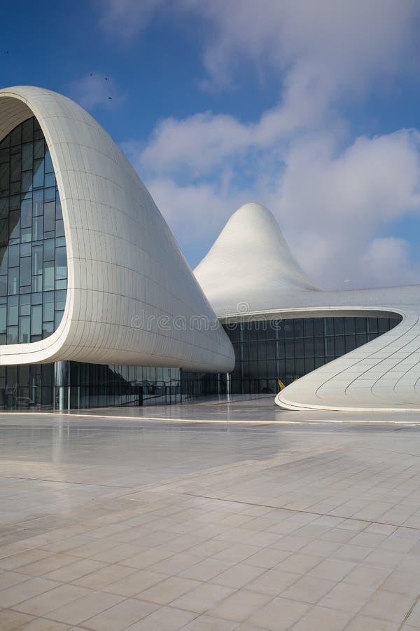 Heydar Aliyev centrum obrazy royalty free