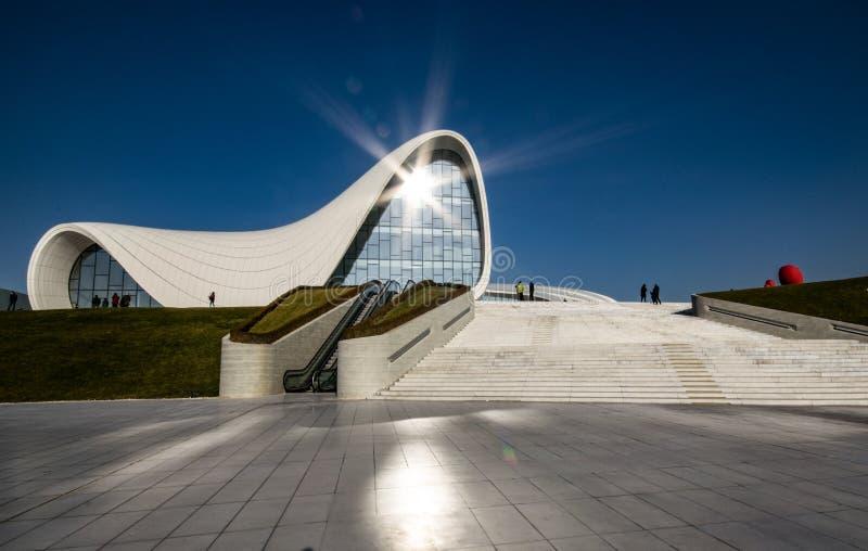 Heydar Aliyev Cultural Center fotografia de stock