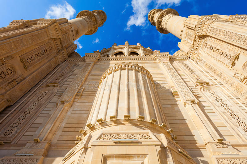 Heydar Mosque in Baku stock afbeeldingen