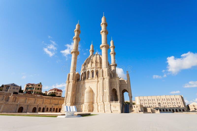 Heydar Mosque in Baku stock foto's