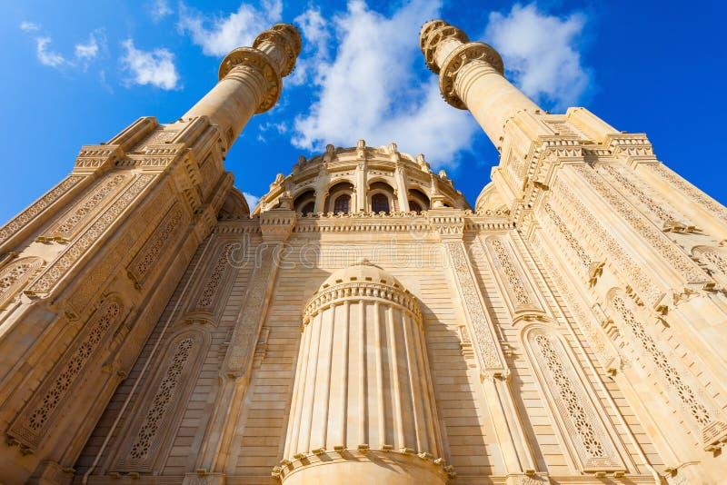 Heydar Mosque i Baku arkivbilder