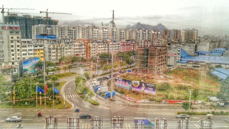 Hezhou Chine photo stock
