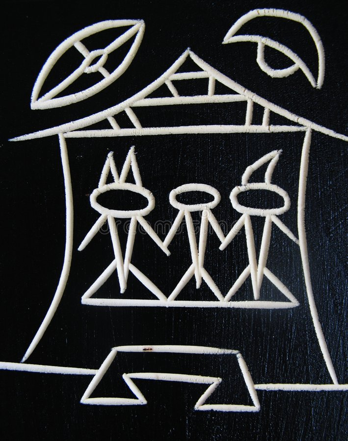 Hiéroglyphe photo libre de droits