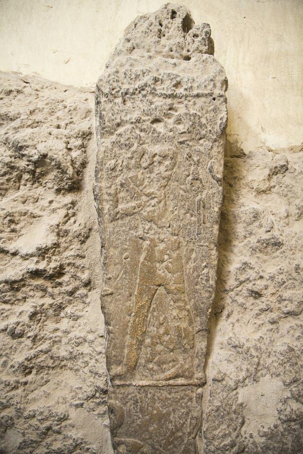 Hiéroglyphe Egypte Gizeh photo libre de droits
