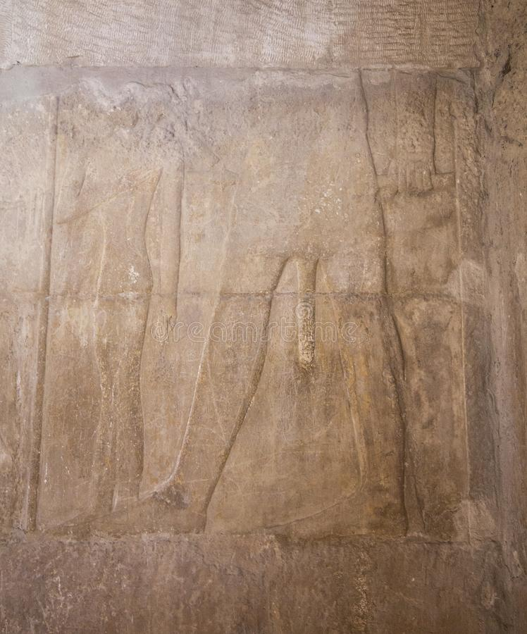 Hiéroglyphe Egypte Gizeh image stock