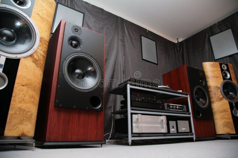 Download Hi-end system stock photo. Image of metal, industry, loudspeakers - 7890984