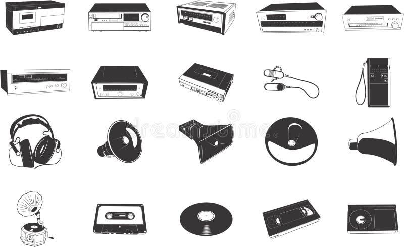 Download Hi-fi Equipment Illustrations Stock Photography - Image: 5395622