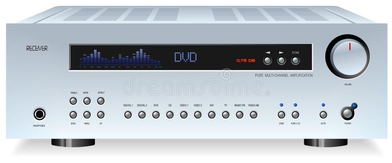 Download Hi-Fi Receiver stock vector. Image of power, cinema, audiophile - 3716908