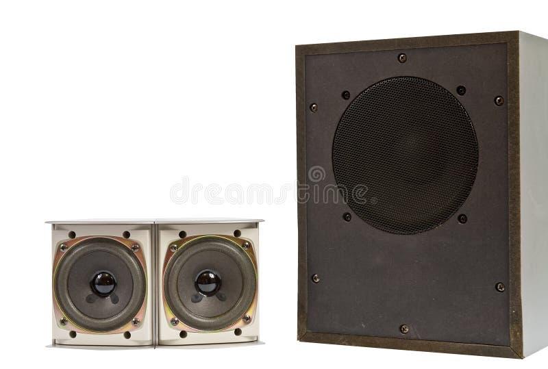 Hi Fi Speakers Royalty Free Stock Photo