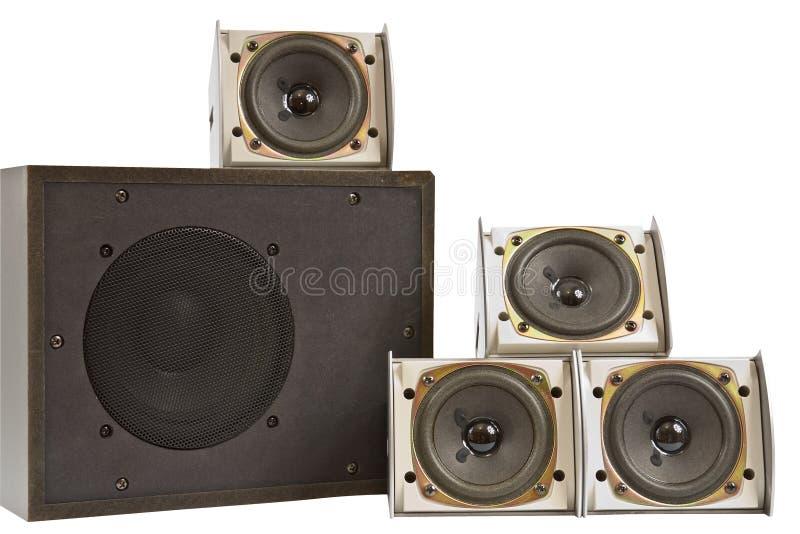 Download Hi Fi Speakers Stock Image - Image: 28044051