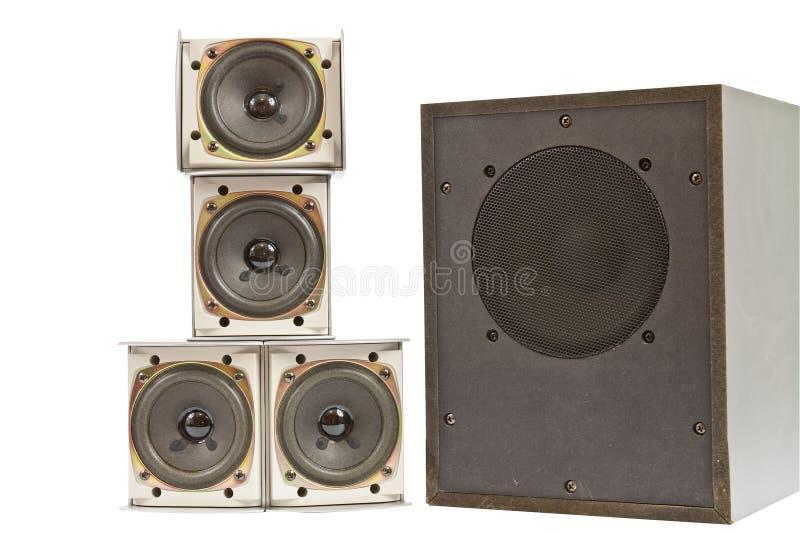 Download Hi fi speakers stock image. Image of loudspeaker, black - 28044215