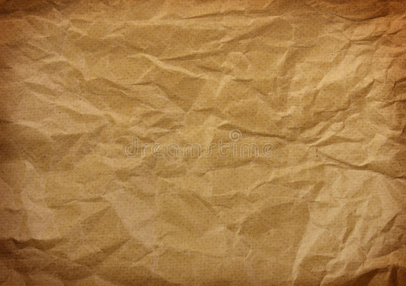 Download Wrinkled paper stock photo. Image of horizontal, empty - 30301034