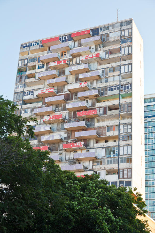 Hi-rise Slum Royalty Free Stock Photos