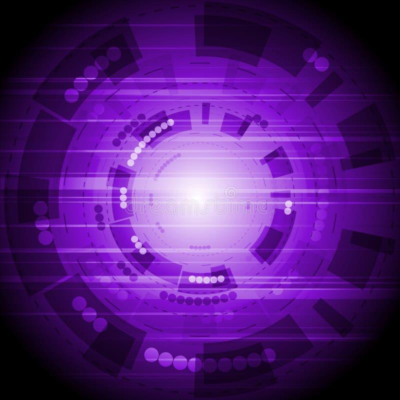 Download Hi-tech background stock vector. Image of poster, design - 22745499