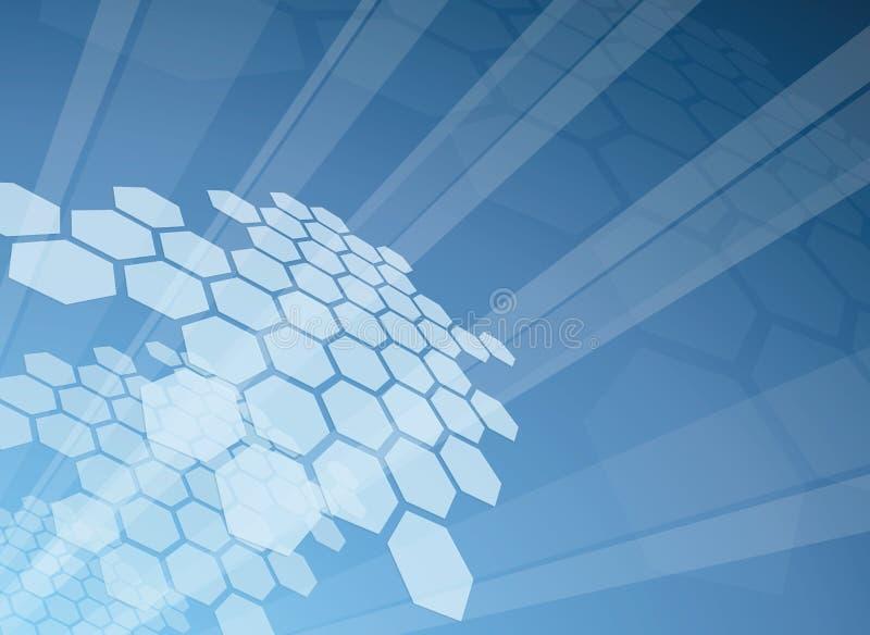 Hi-tech background vector illustration