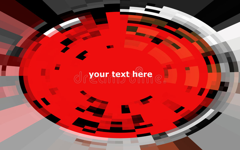 Hi-tech background. Abstract techno design, background for many purposes stock illustration