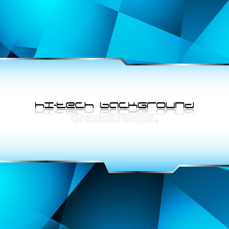Download Hi-tech blue background stock vector. Illustration of glass - 20142551