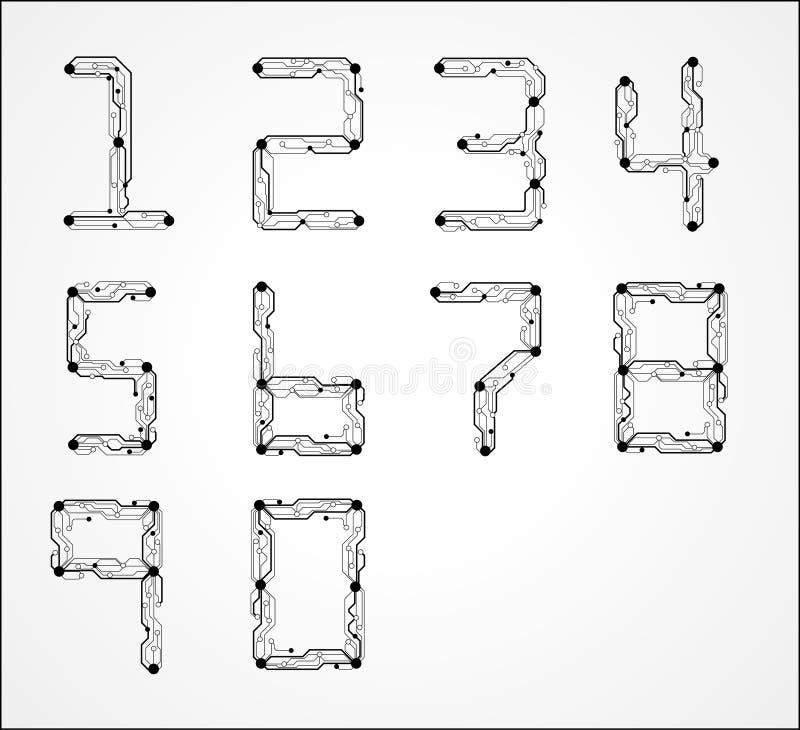 circuit board stock illustration  illustration of conceptual
