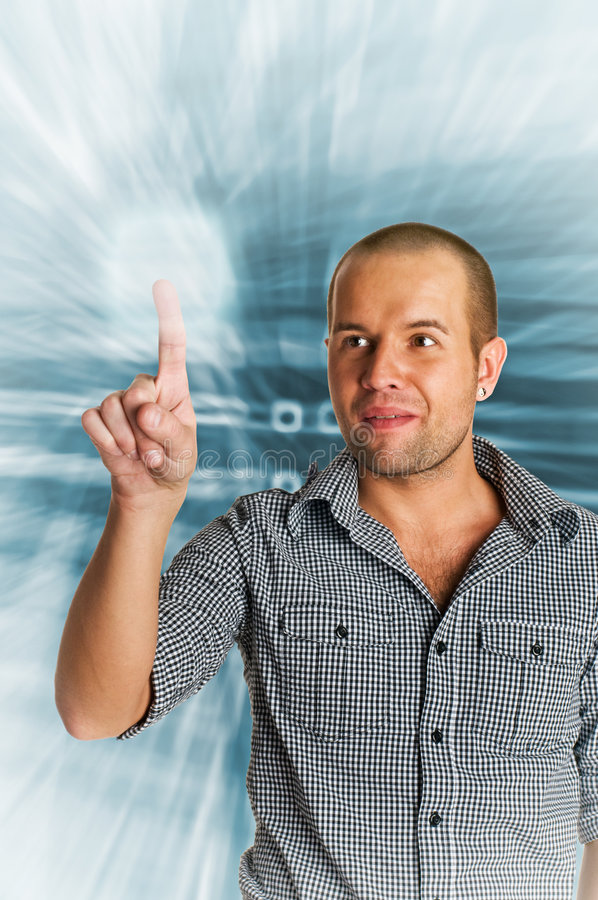 Download Hi-tech Concept Royalty Free Stock Photography - Image: 9063467