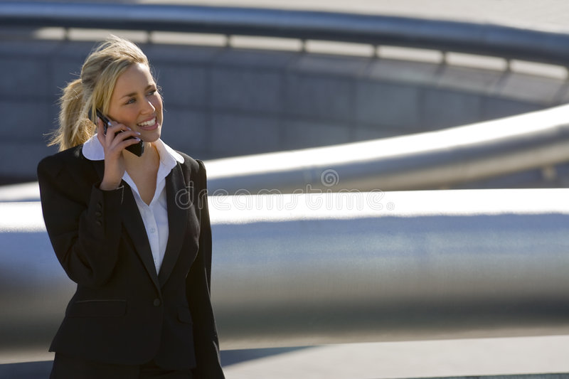 Download Hi Tech Exec stock photo. Image of beauty, mobile, successful - 3410214