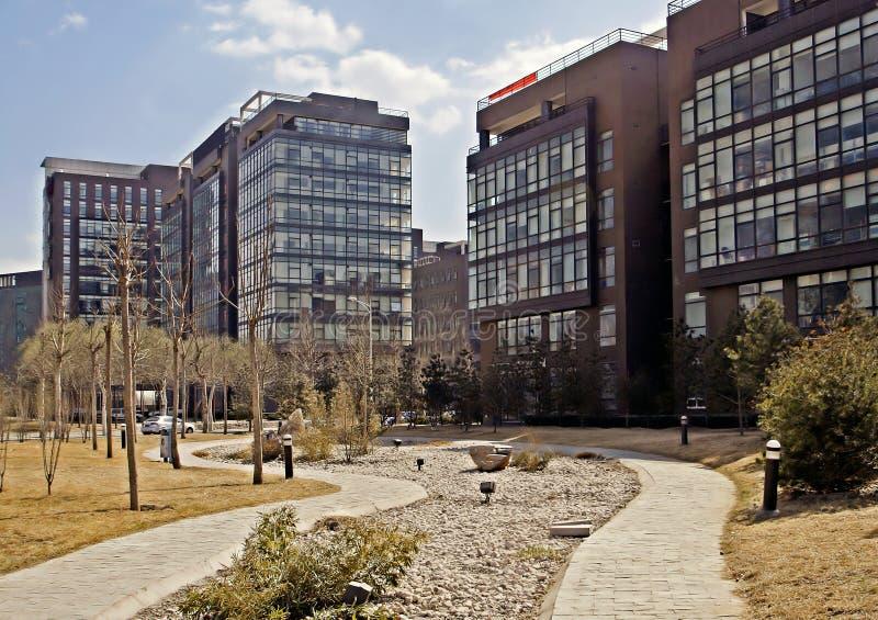 Hi-Tech garden of Beijing. royalty free stock photography