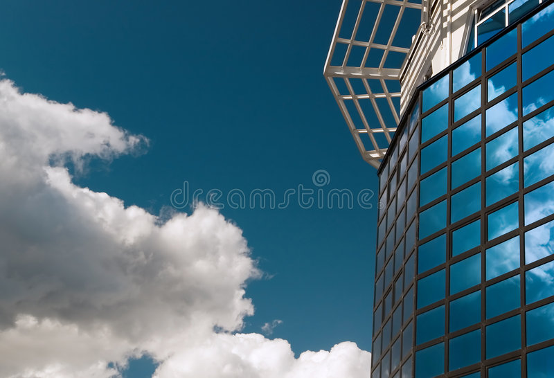 Hi-tech and heaven royalty free stock image