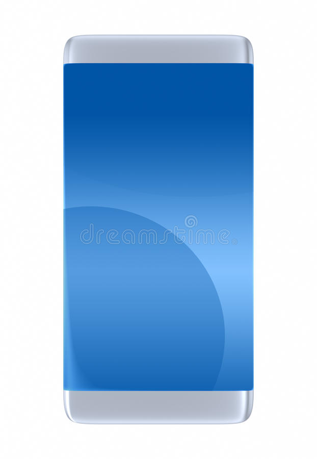 Hi-Tech mobiele telefoon stock fotografie