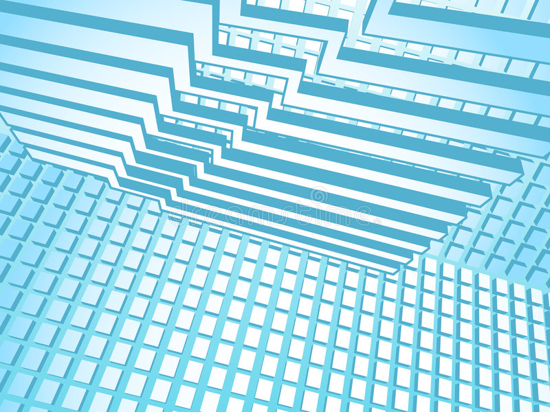 Hi-tech Style vector illustration