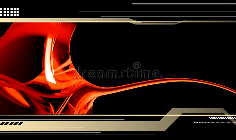 Download Hi-tech template stock illustration. Image of illusion - 2731430