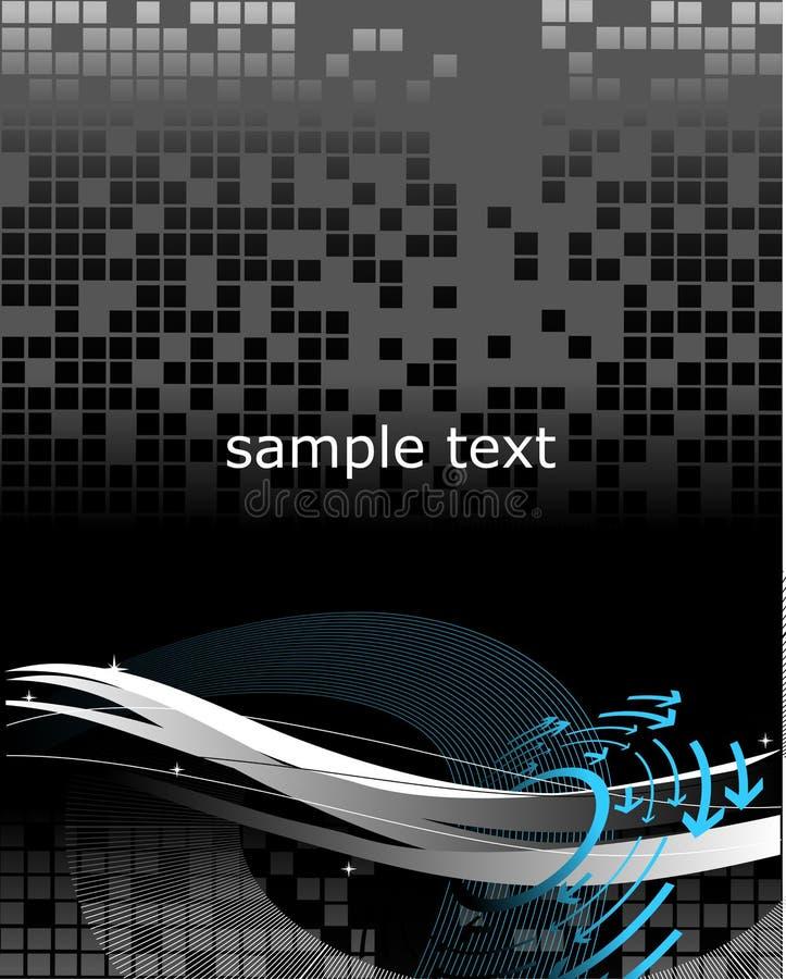 Hi-tech Wallpaper stock illustration