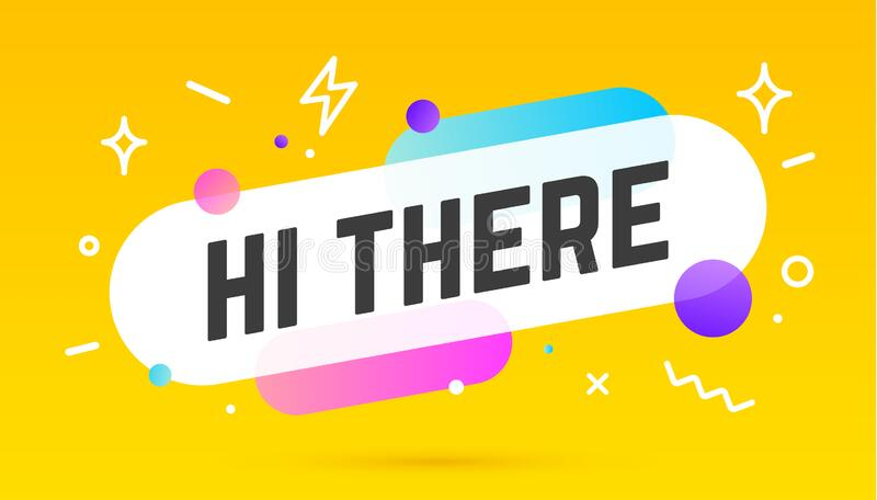 Hi There Stock Illustrations – 124 Hi There Stock Illustrations ...