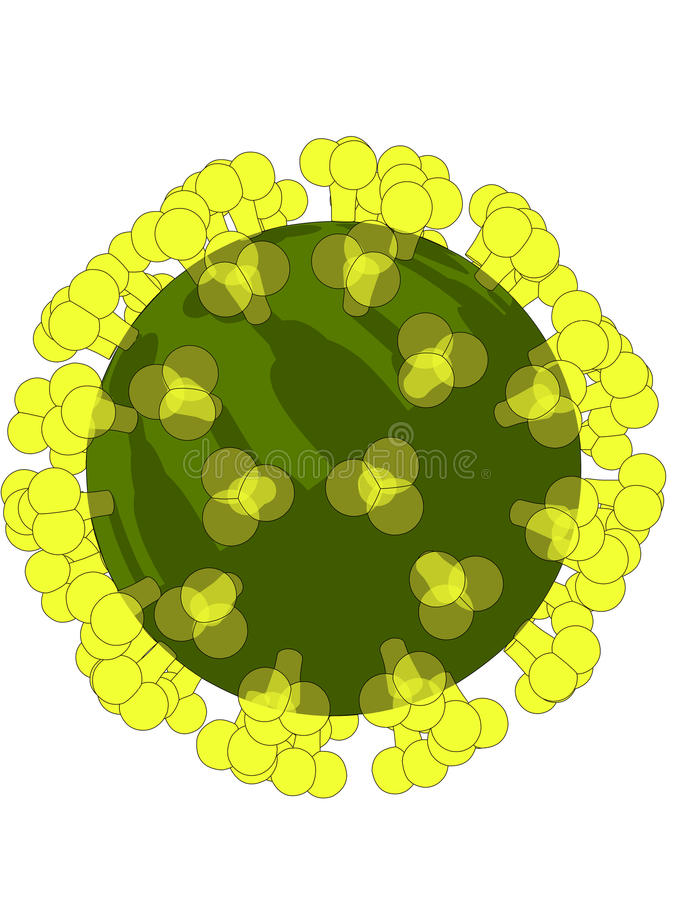 Download Hi virus stock vector. Illustration of clinic, cell, macro - 9580431