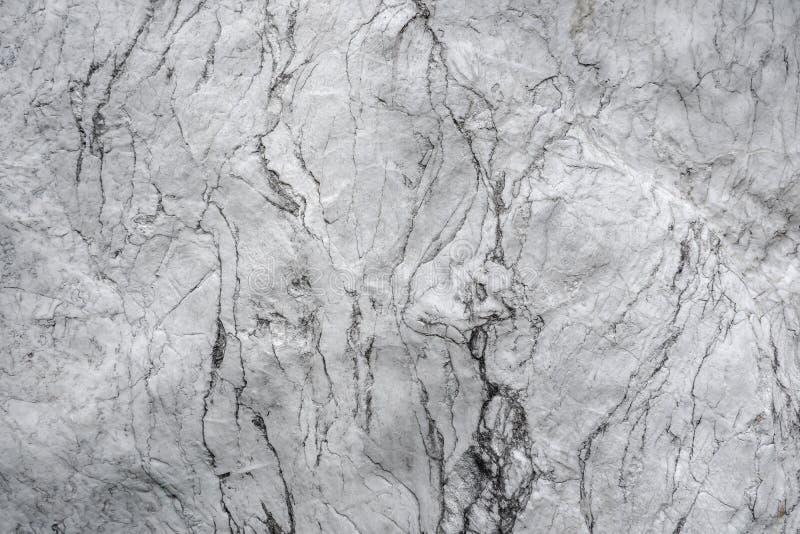Hiato abstrato da rocha natural branca imagens de stock royalty free